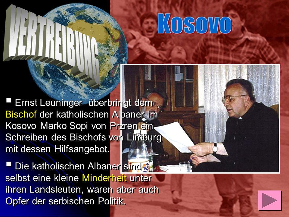 Kosovo VERTREIBUNG.