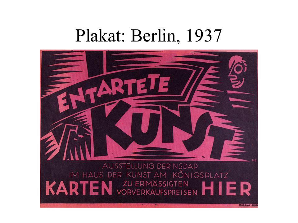 Plakat: Berlin, 1937