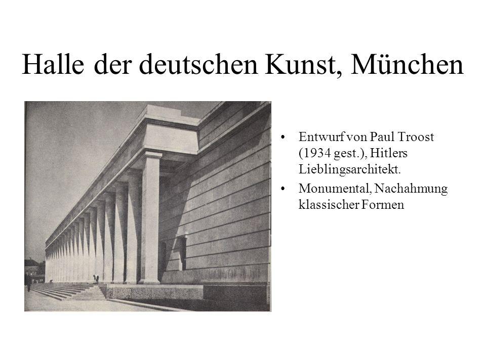 Halle der deutschen Kunst, München