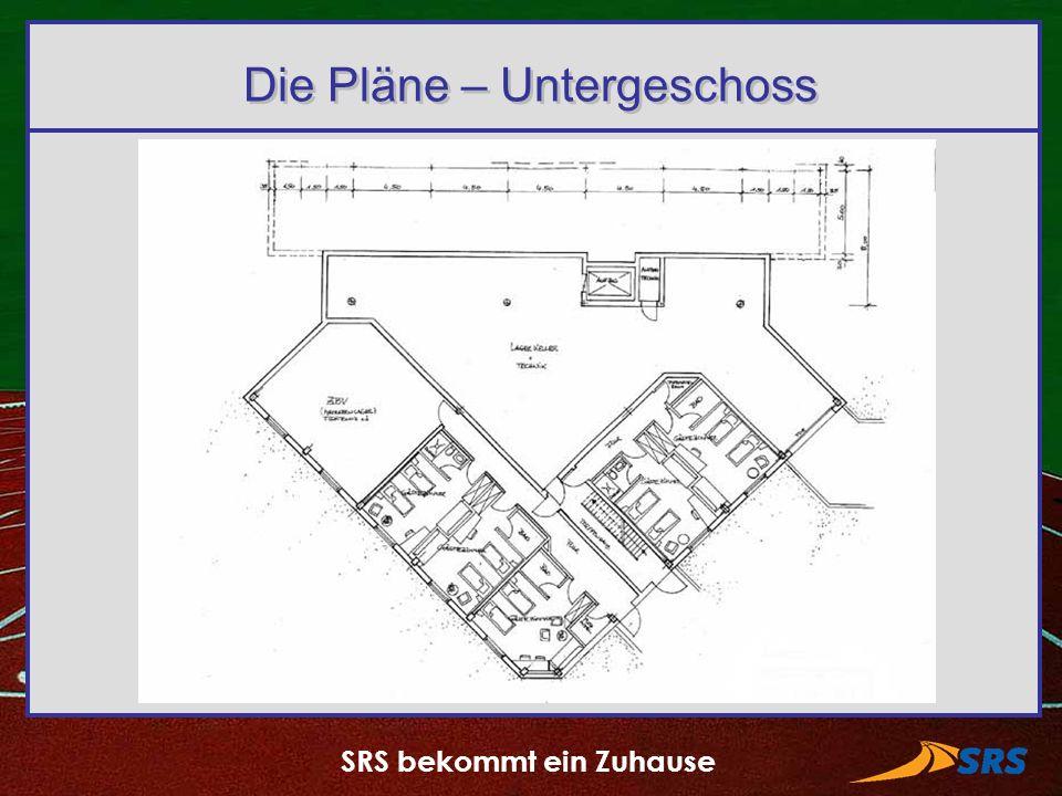 Die Pläne – Untergeschoss
