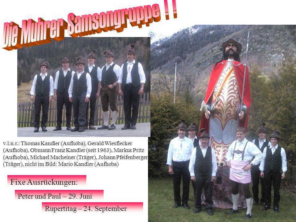 Die Muhrer Samsongruppe ! !