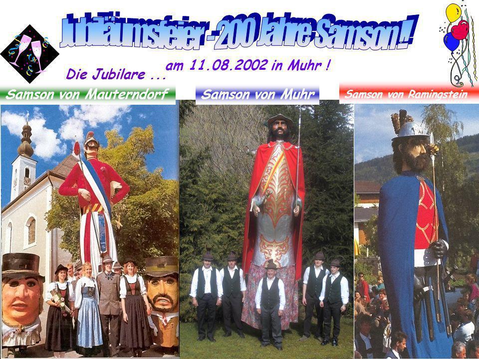 Jubiläumsfeier - 200 Jahre Samson !!
