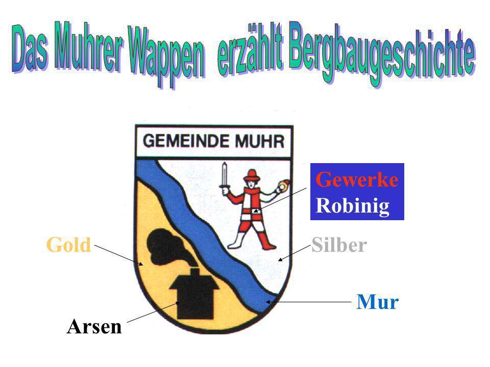 Das Muhrer Wappen erzählt Bergbaugeschichte