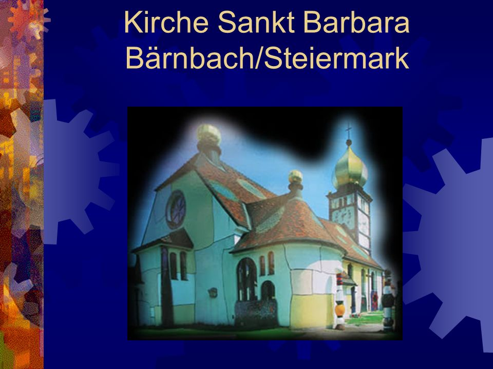 Kirche Sankt Barbara Bärnbach/Steiermark