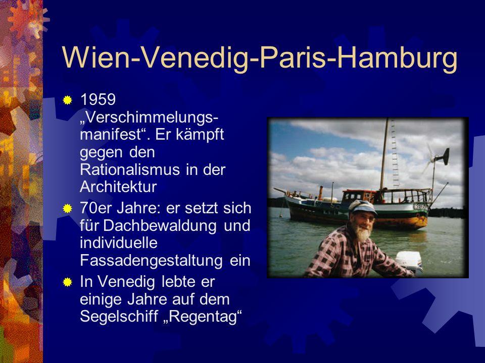 Wien-Venedig-Paris-Hamburg
