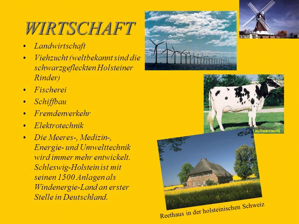 WIRTSCHAFT Landwirtschaft