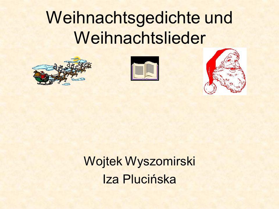 Weihnachtsgedichte und Weihnachtslieder