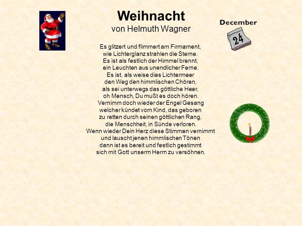 Weihnacht von Helmuth Wagner