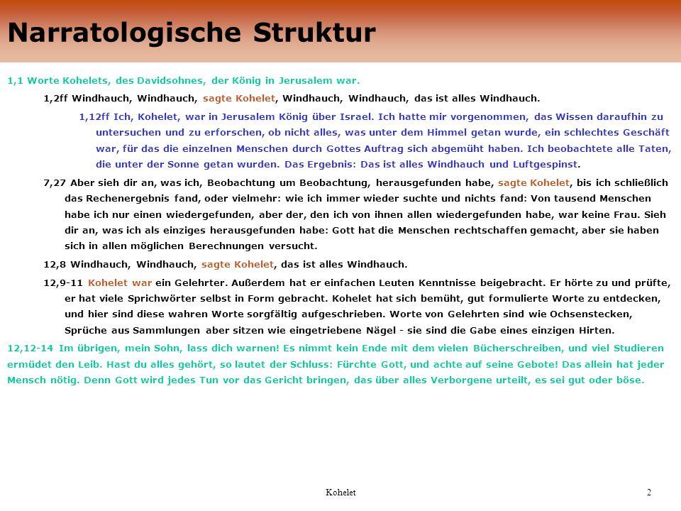 Narratologische Struktur
