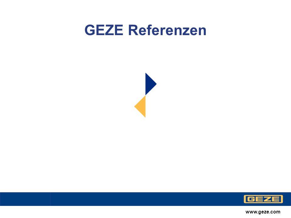 GEZE Referenzen www.geze.com