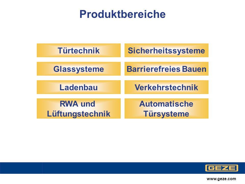 Produktbereiche Barrierefreies Bauen Verkehrstechnik Ladenbau