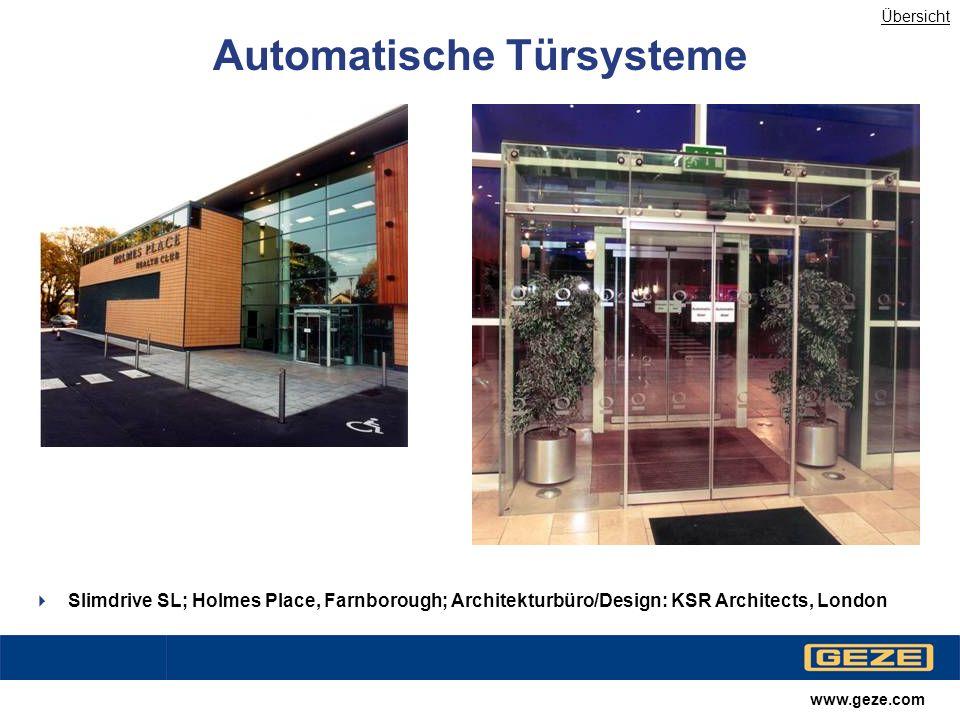 Automatische Türsysteme
