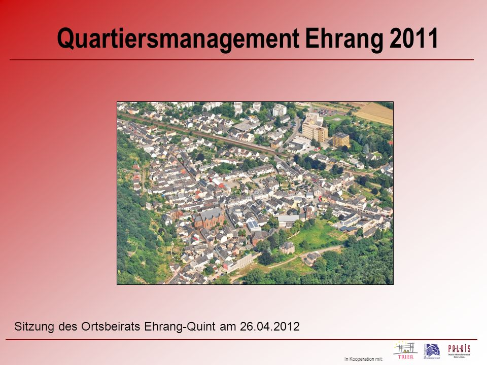 Quartiersmanagement Ehrang 2011