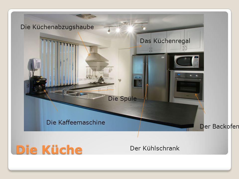 Die Küche Die Küchenabzugshaube Das Küchenregal Die Spüle
