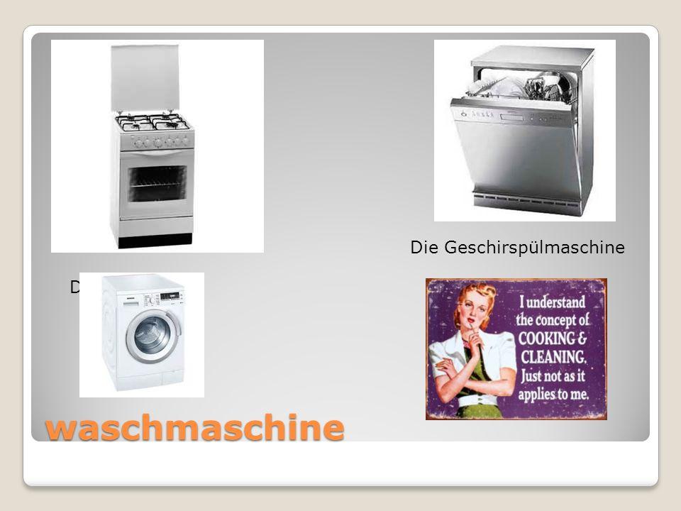 Die Geschirspülmaschine