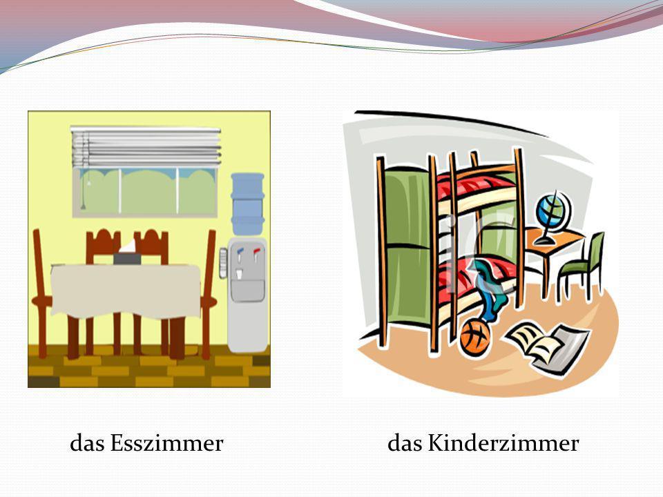 das Esszimmer das Kinderzimmer
