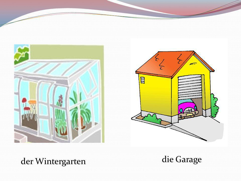 die Garage der Wintergarten