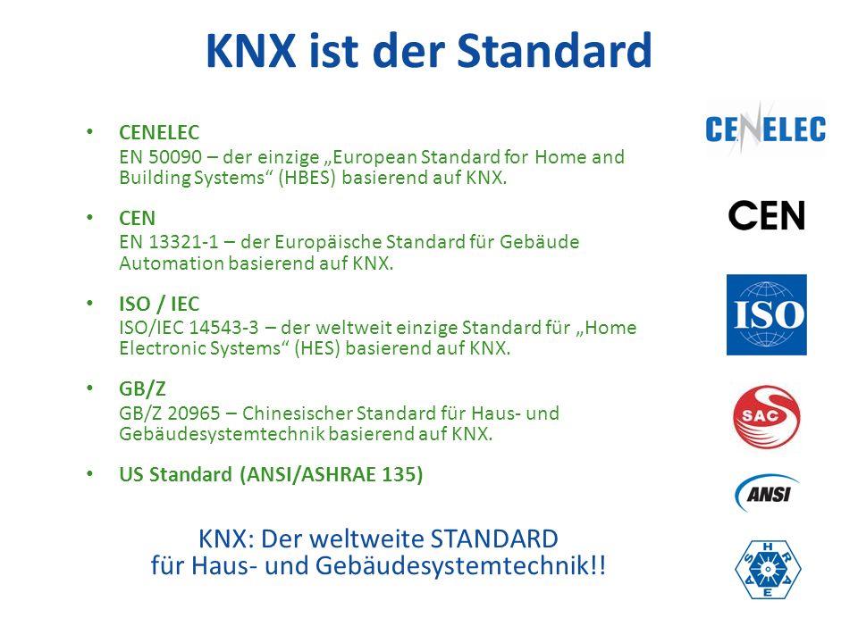 KNX: Der weltweite STANDARD für Haus- und Gebäudesystemtechnik!!