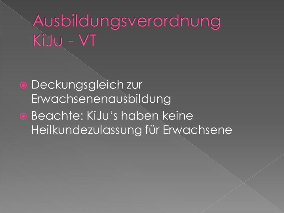 Ausbildungsverordnung KiJu - VT