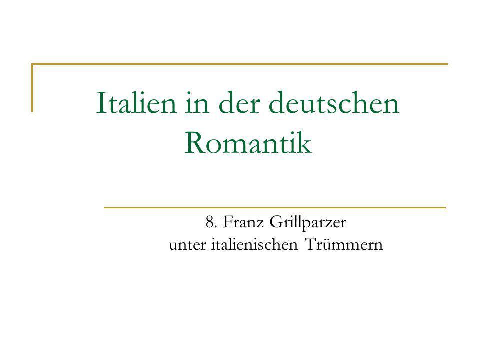 Italien in der deutschen Romantik