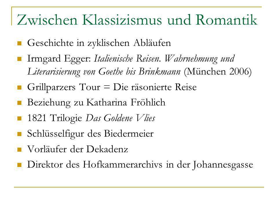 Zwischen Klassizismus und Romantik
