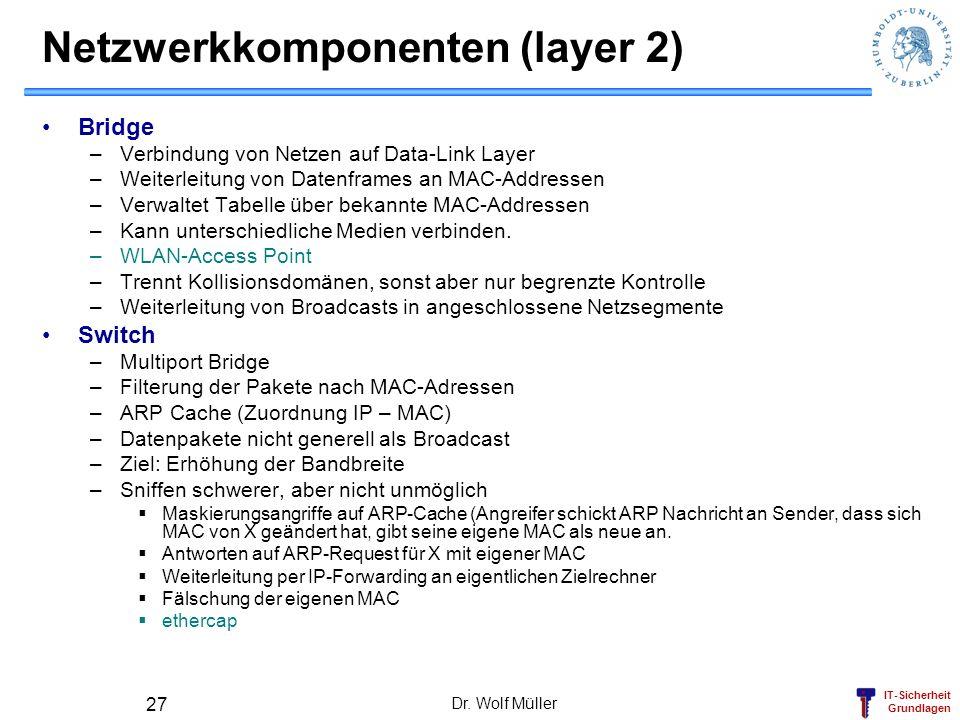 Netzwerkkomponenten (layer 2)