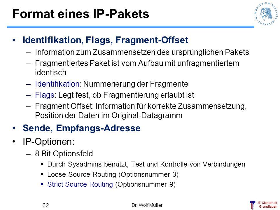 Format eines IP-Pakets