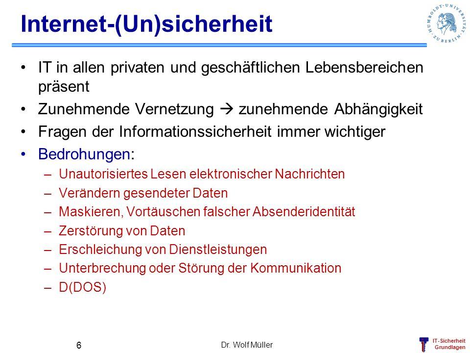 Internet-(Un)sicherheit