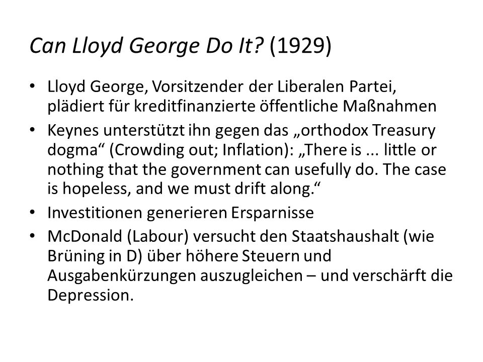 Can Lloyd George Do It (1929)