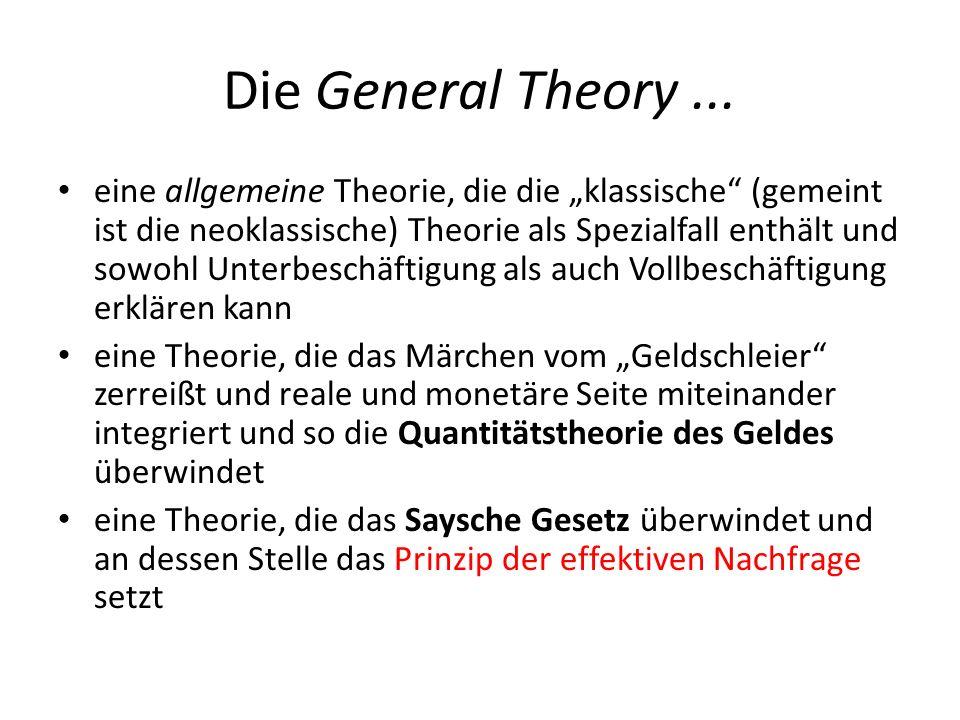 Die General Theory ...