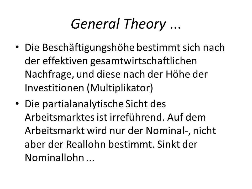 General Theory ...