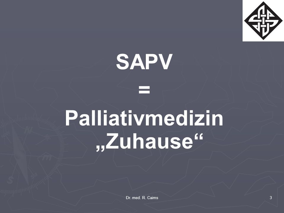 "Palliativmedizin ""Zuhause"
