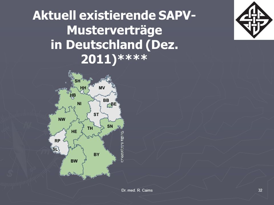 Aktuell existierende SAPV-Musterverträge