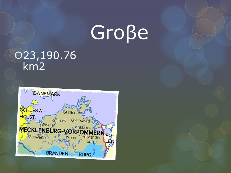 Groβe 23,190.76 km2