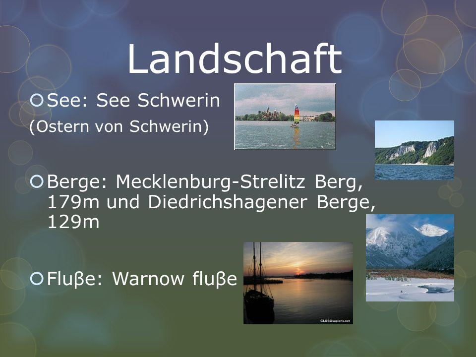 Landschaft See: See Schwerin