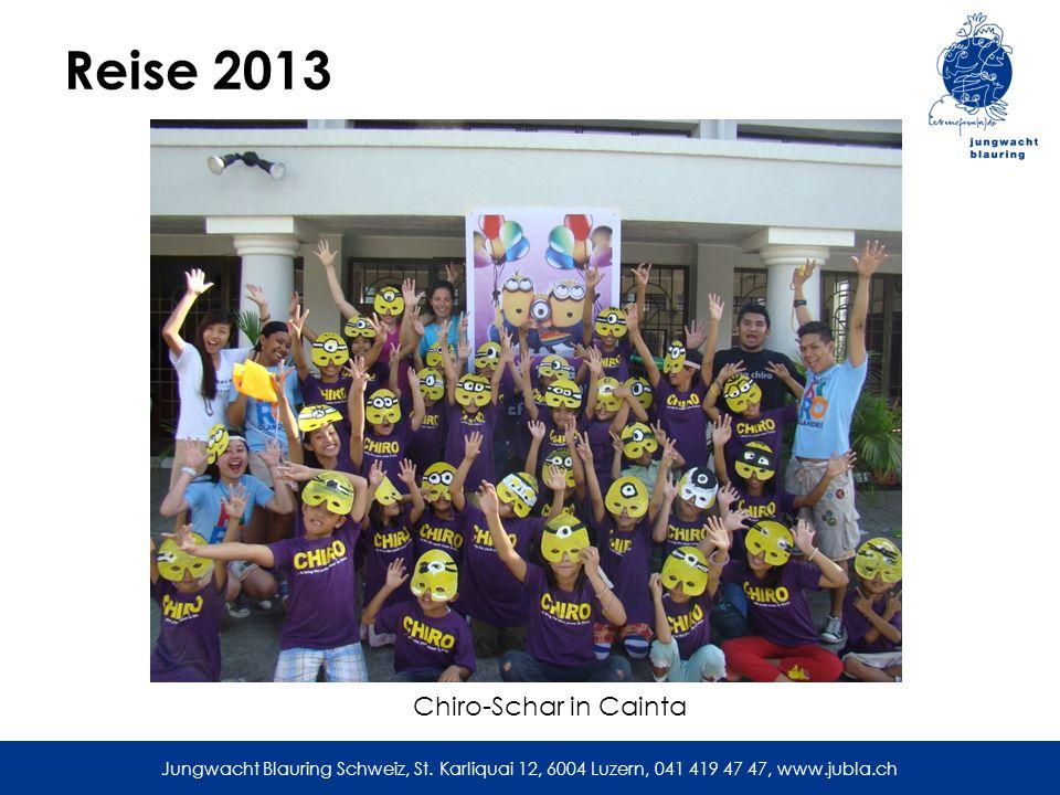 Reise 2013 Chiro-Schar in Cainta
