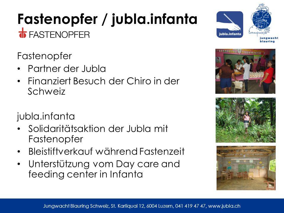 Fastenopfer / jubla.infanta