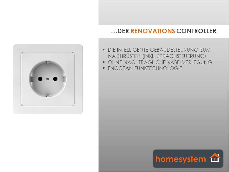 …DER RENOVATIONS CONTROLLER
