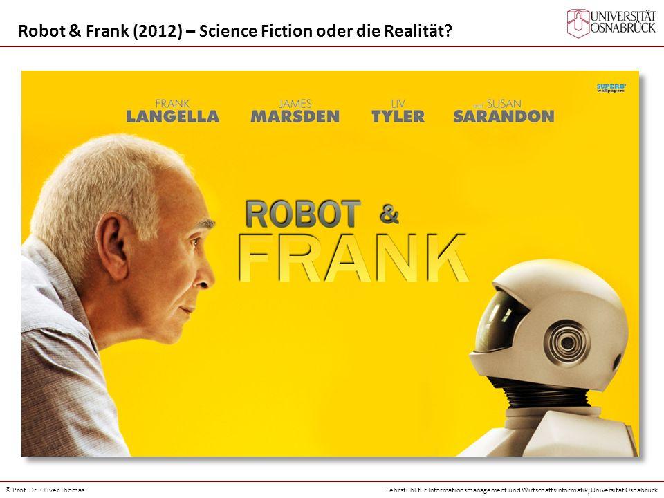 Robot & Frank (2012) – Science Fiction oder die Realität