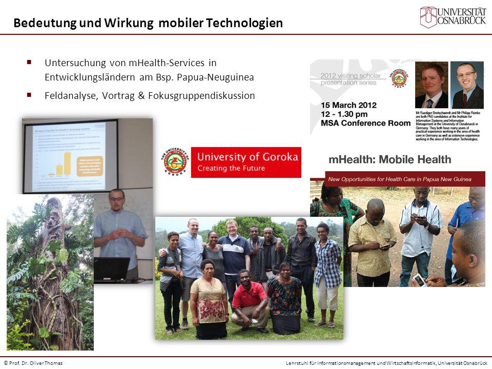 Bedeutung und Wirkung mobiler Technologien