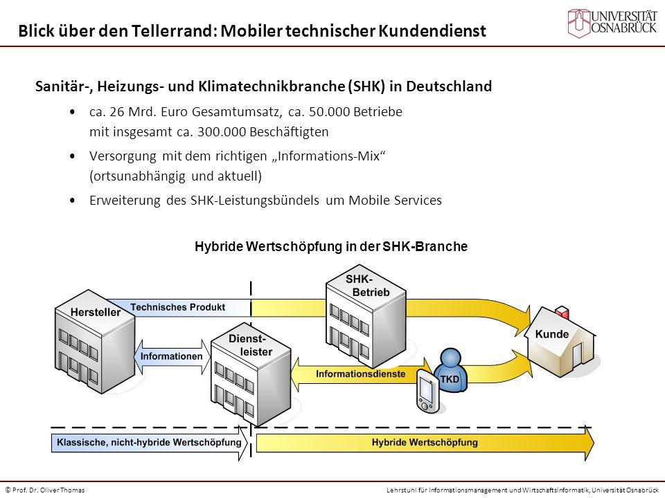Blick über den Tellerrand: Mobiler technischer Kundendienst