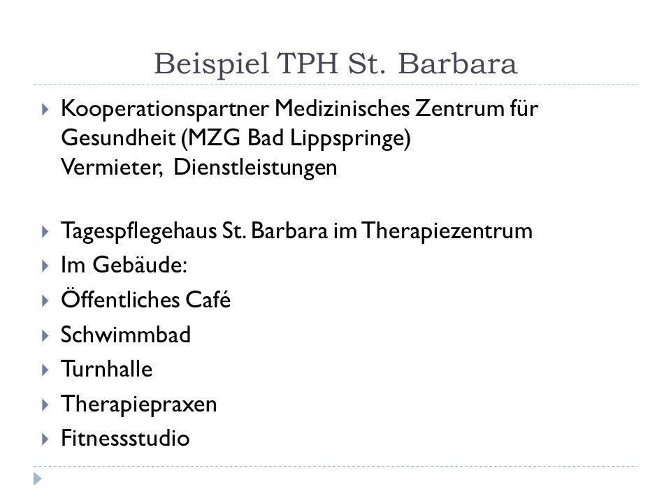 Beispiel TPH St. Barbara