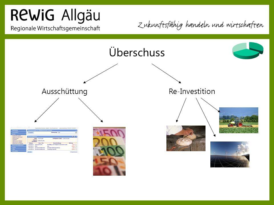 Überschuss Ausschüttung Re-Investition ReWig Allgäu Vortrag 28.03.2017