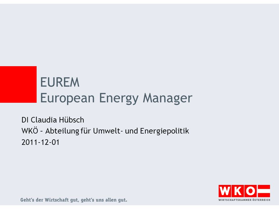 EUREM European Energy Manager