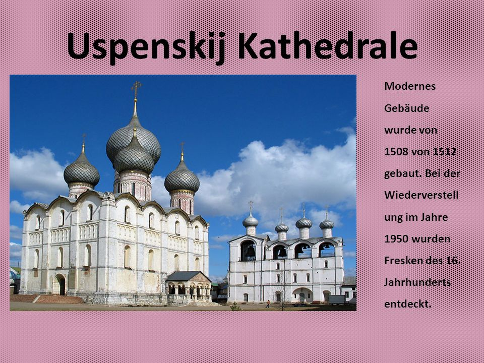 Uspenskij Kathedrale