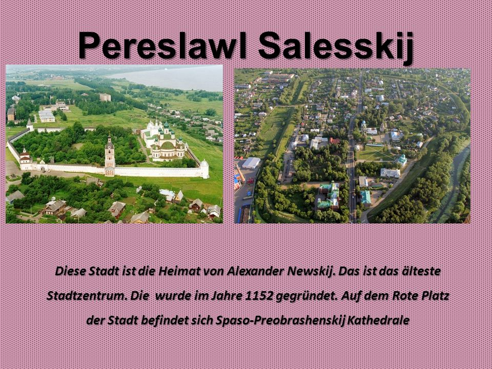 Pereslawl Salesskij
