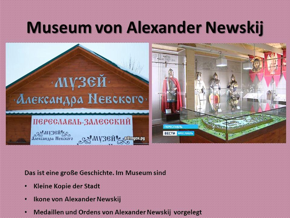 Museum von Alexander Newskij