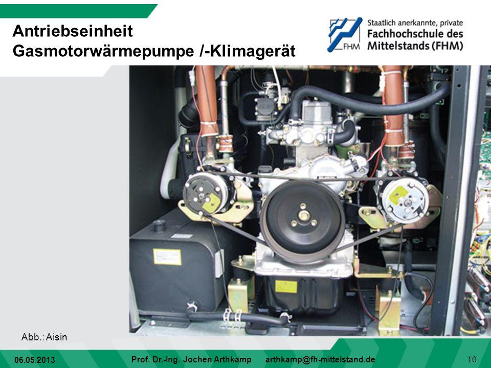 Antriebseinheit Gasmotorwärmepumpe /-Klimagerät