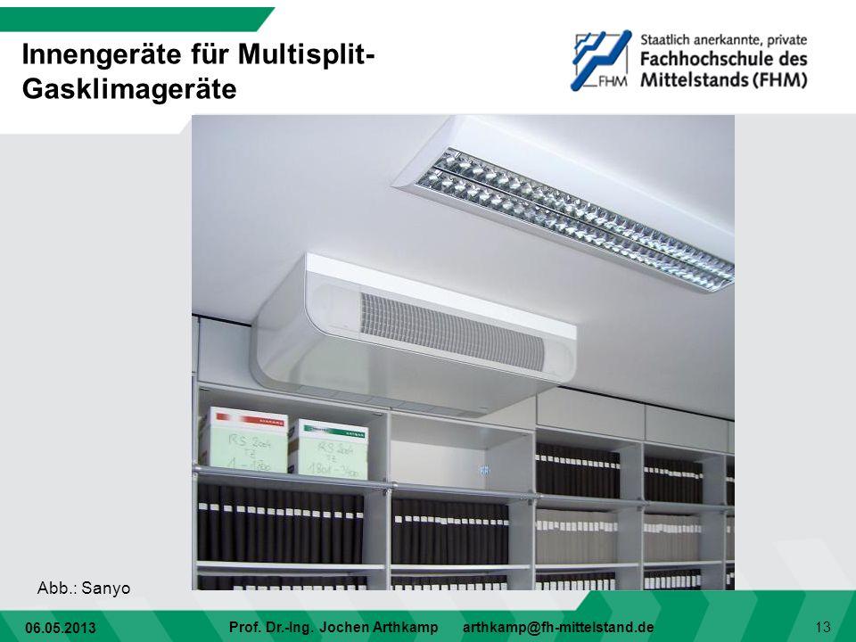 Innengeräte für Multisplit-Gasklimageräte