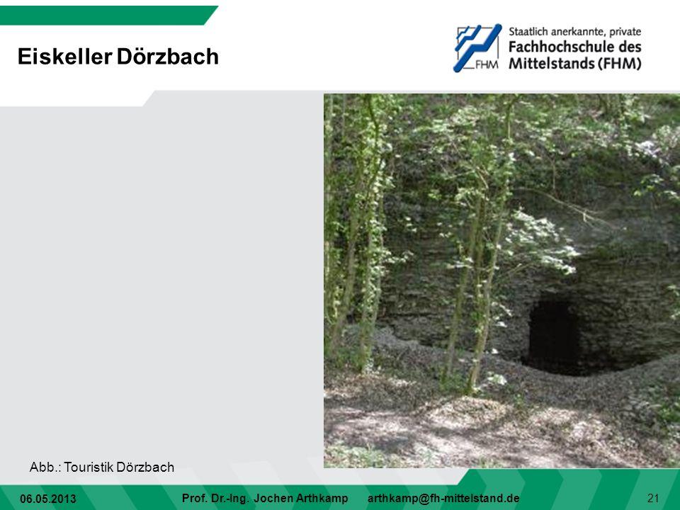 Eiskeller Dörzbach Abb.: Touristik Dörzbach
